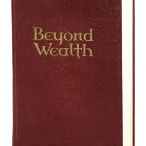 Beyond Wealth Book - buy here.